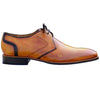 Johny Weber Handmade Light Brown Patina Oxford Shoes - Johny Weber