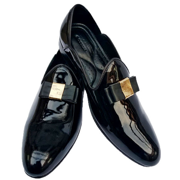 Johny Weber Patent Leather Handmade Loafers
