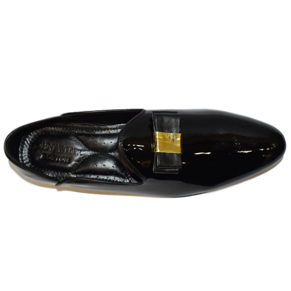 Johny Weber Handmade Patent Leather Handmade Loafers - Johny Weber