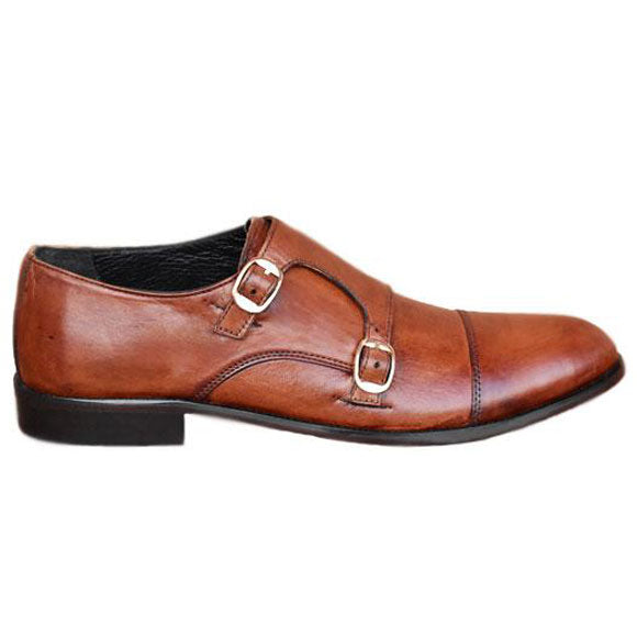 Johny Weber Handmade Leather Monk-Strap Style - Johny Weber