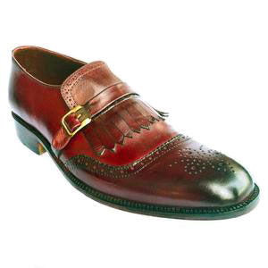 Johny Weber Handmade MonkStrap Double Shaded Shoes - Johny Weber