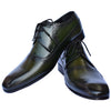 Johny Weber Handmade Fold Sole Green Patina Shoes - Johny Weber