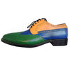 Johny Weber Handmade Tri Colored Oxford Shoes - Johny Weber