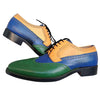 Johny Weber Handmade Tri Colored Oxford Shoes