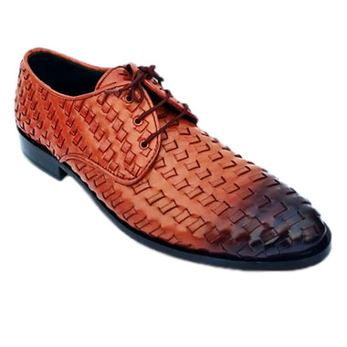 Johny Weber Handmade Knitted and Painted Oxfords - Johny Weber