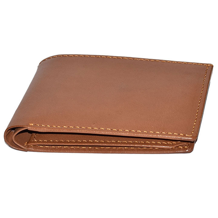 Johny Weber Handmade Four Stitch Tri-Fold Wallet