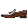 Johny Weber Handmade Leather Dark Brown Loafers - Johny Weber