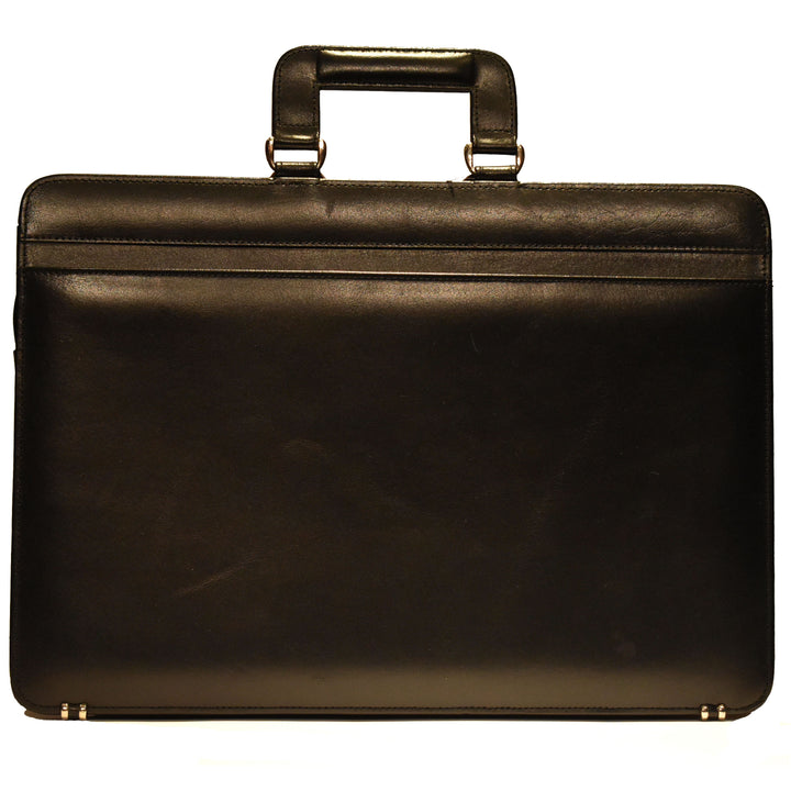 Johny Weber Handmade Classic Style Leather Briefcase