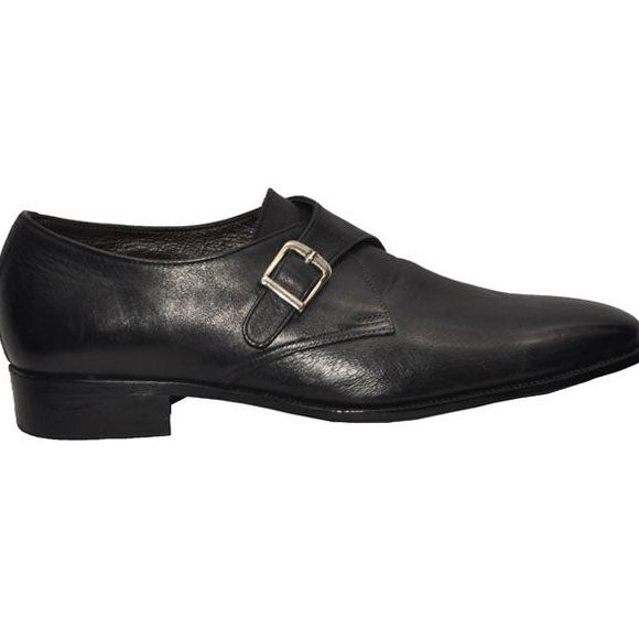 Johny Weber Handmade Leather Monk Strap Shoes