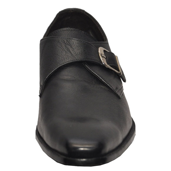 Johny Weber Handmade Leather Monk Strap Shoes - Johny Weber