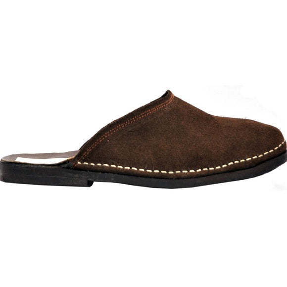 Johny Weber Handmade Mens Suede Leather Slippers