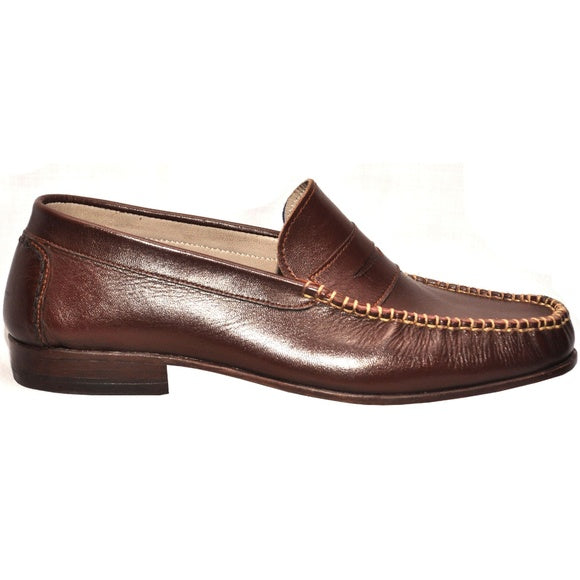 Johny Weber Handmade Brown Casual Leather Shoes