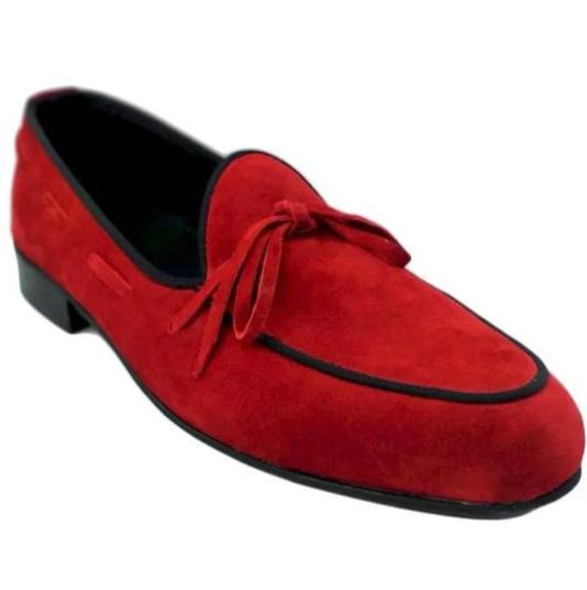 Johny Weber Handmade Casual Suede Leather Shoes