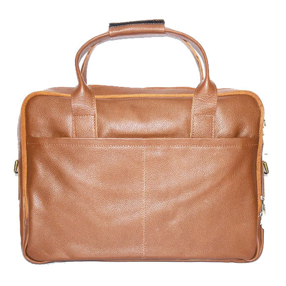 Johny Weber Hand Made Leather Laptop Bag