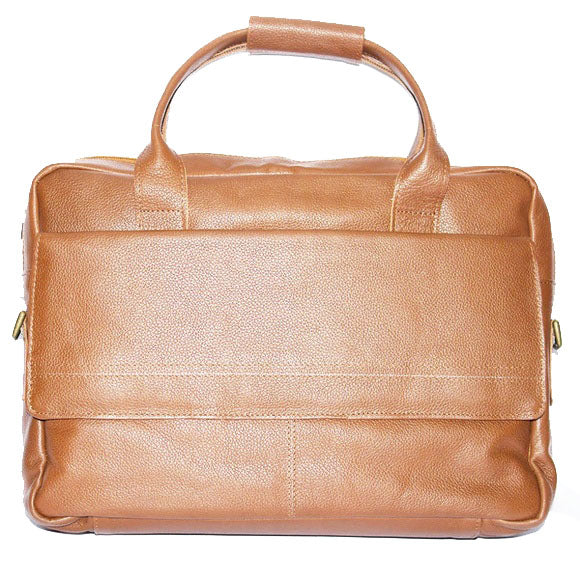 Johny Weber Handmade Leather Laptop Bag - Johny Weber