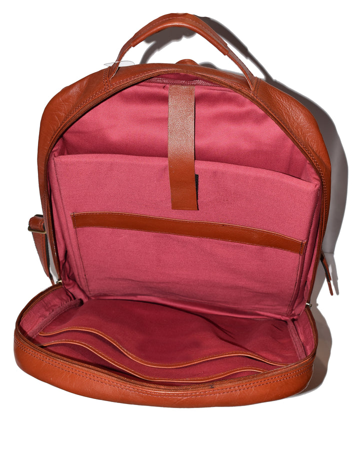 Johny Weber Handmade Adjustable Strap Backpack. - Johny Weber
