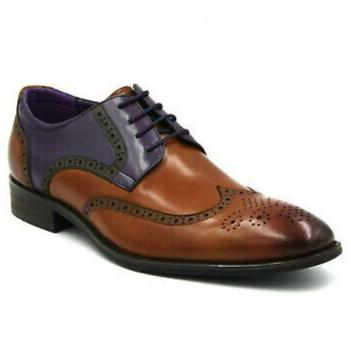 Johny Weber Handmade Multicolor Oxford Shoes