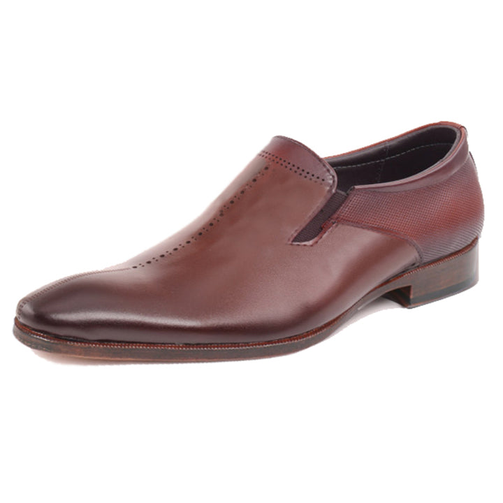 Johny Weber Handmade Red Leather Oxford Shoes - Johny Weber