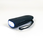 Dynamo Hand-Crank Flashlight With Emergency Radio and Power Bank