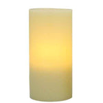 "Pacific Accents Flameless Wax 5""x 8"" Pillar Candle With Timer Ivory"
