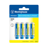 Westinghouse Rechargeable 3.2V Lithium Batteries