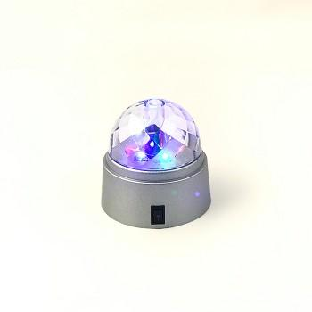 Portable Spinning Mini Disco Light