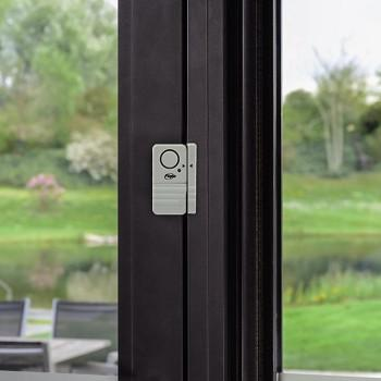 Door or Window Entry Guard Alarm With Magnetic Sensor