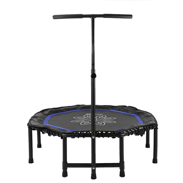 "[product_tag] , Xspec 44"" Exercise Fitness Trampoline Home Workout  Cardio Trainer, Blue - Crosslinks"