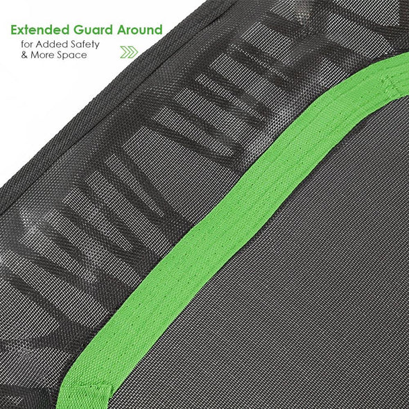 "[product_tag] , Xspec 44"" Exercise Fitness Trampoline Home Workout  Cardio Trainer, Green - Crosslinks"