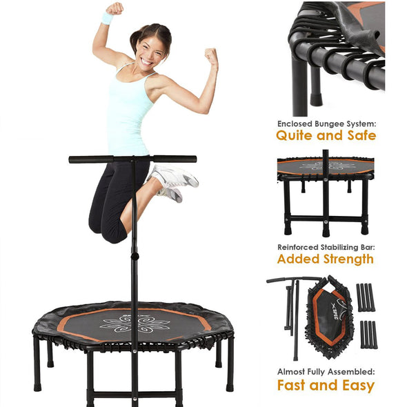 [product_tag] , Xspec Lotus Exercise Fitness Trampoline Home Workout  Cardio Training - Crosslinks