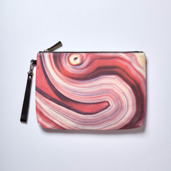 HARD SWIRLS Pink Stone Clutch - GLUSH/ - 6