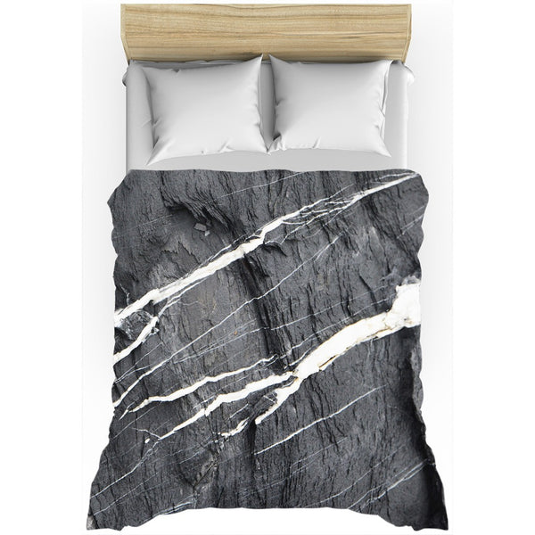 Add this cool marble duvet cover to style up your home