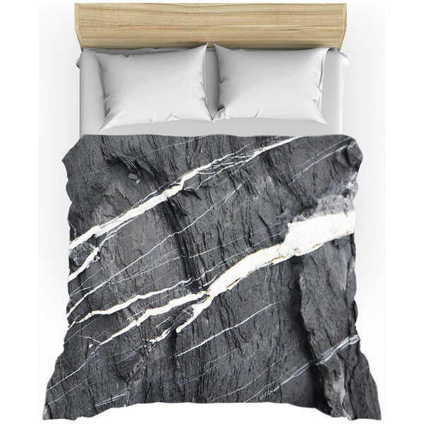 Grey Marble Duvet Cover - GLUSH/ - 1