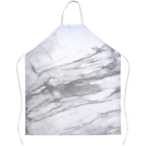 Chic White Marble Apron for your kitchen. Designed by GLUSH/