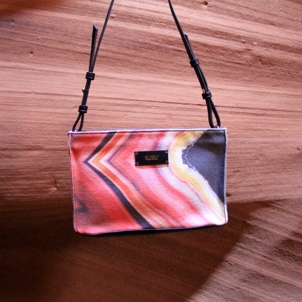 Pink handbag inspired by Antelope Canyon by GLUSH