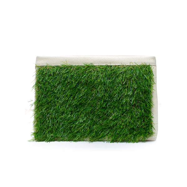 GRASSY SMALL ZIP CLUTCH - GLUSH/ - 1