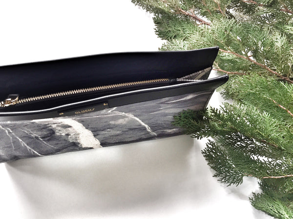 HARD RAYS Grey Sleek Clutch - GLUSH/ - 6