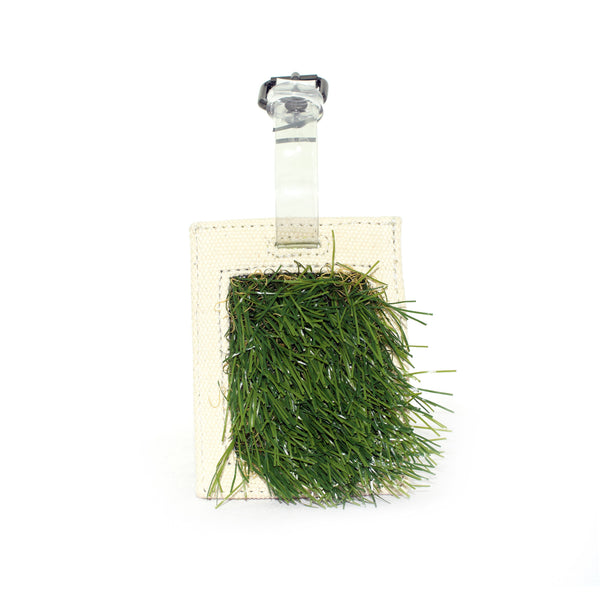 Never lose your luggage again - spot your suitcase from miles away with this GRASSY Luggage Tag by GLUSH/