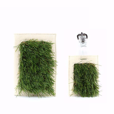 GRASSY Passport Cover + Luggage Tag Set - GLUSH/ - 1