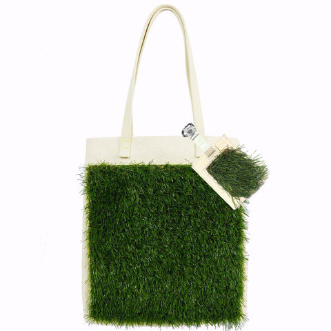 GRASSY Tote + Luggage Tag Set - GLUSH/ - 1