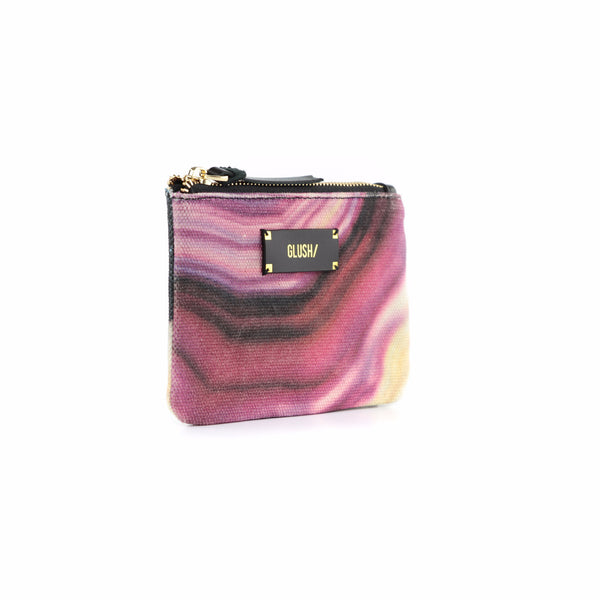HARD SWIRLS Pink Stone Pouch - GLUSH/ - 2