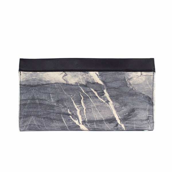 HARD RAYS Grey Sleek Clutch - GLUSH/ - 2