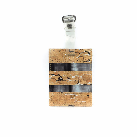 Unique Cork Luggage Tag - GLUSH/ - 1