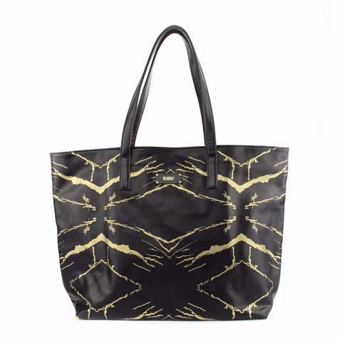 HARD RAYS BLACK GOLD WEEKEND TOTE - GLUSH/ - 1