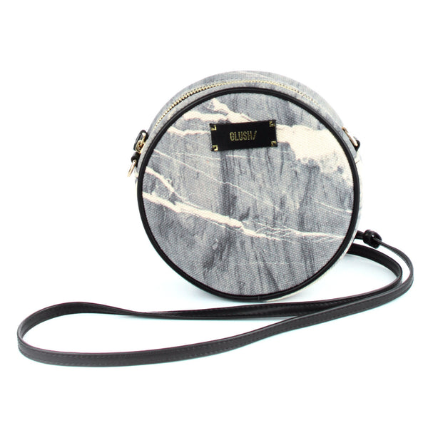 HARD RAYS Grey Stone Round Crossbody - GLUSH/ - 1
