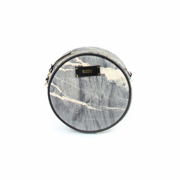 HARD RAYS Grey Stone Round Crossbody - GLUSH/ - 3