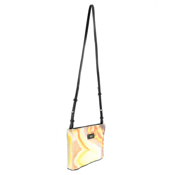 HARD SWIRLS Orange Stone Crossbody - GLUSH/ - 3