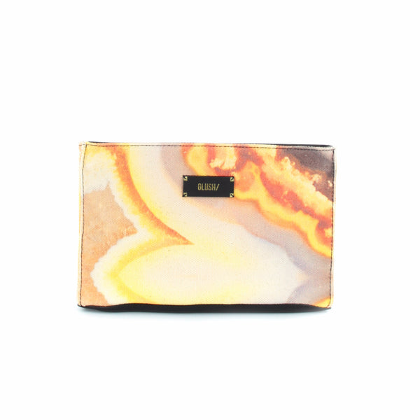 HARD SWIRLS Orange Stone Crossbody - GLUSH/ - 5