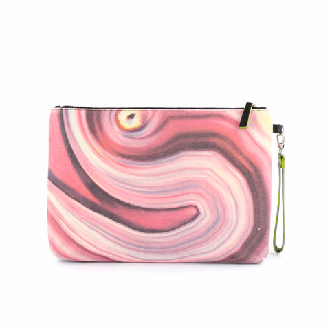 pink iPad case and clutch by GLUSH