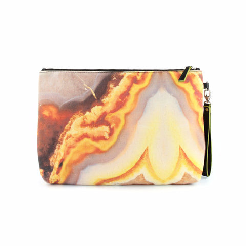 Orange iPad clutch bag - GLUSH/ - 1